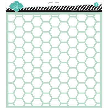 Hexagon -stencils 12x12