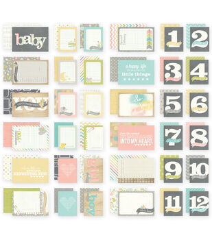 """Sn@p! Double-Sided Cards 4""""X6""""-Hello Baby"""