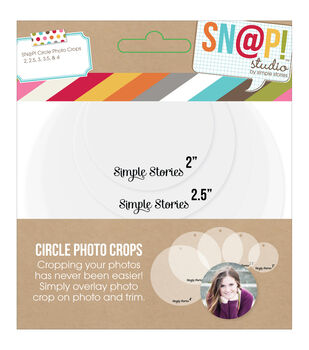 Simple Stories Sn@p! Circle Photo Crops