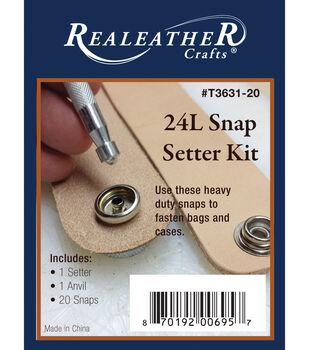 24L Snap Setter Kit-Nickel