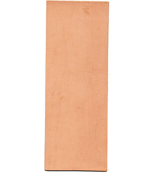 """Tooling Leather, 9""""x3"""", Natural"""