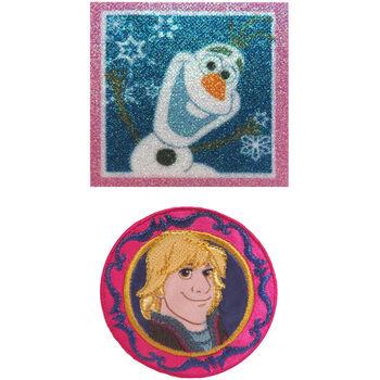 Wrights Disney Frozen Olaf & Kristoff Iron-On Appliques