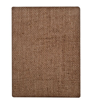 Tim Holtz Idea-Ology District Market Bare Burlap Panel 6''x8''