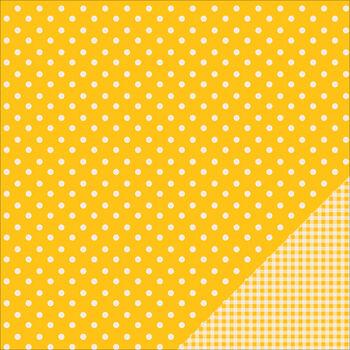 Pebbles Basics Honeycomb Dot Double-Sided Cardstock 12''x12''
