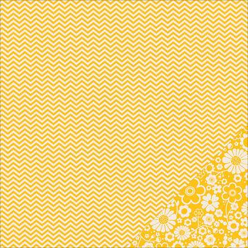 Pebbles Basics Honeycomb Chevron Double-Sided Cardstock 12''x12''
