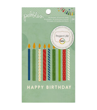 Birthday Wishes Quote & Journaling Cards 24/Pkg