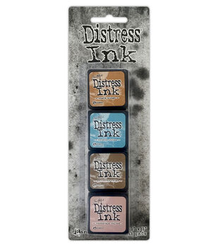 Distress Mini Ink Kits-Kit 6