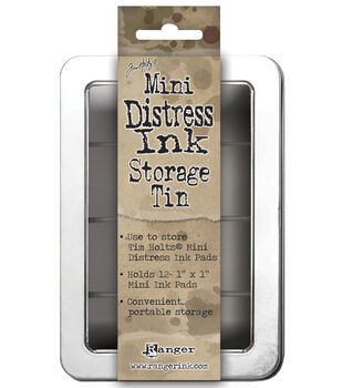 Mini Distress Ink Storage Tin -Holds 12