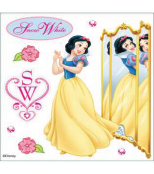 EK Success Disney Dimensional Sticker-Snow White Reflection