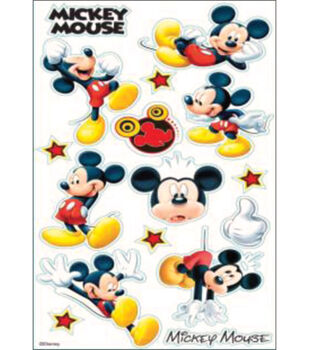 EK Success Disney Classic Sticker-Mickey Mouse