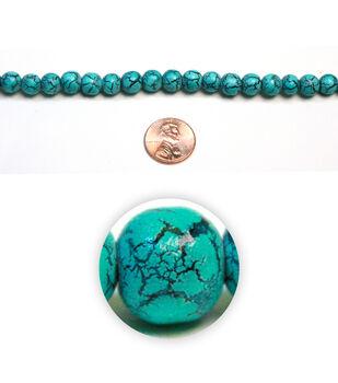 Craquelure Glass Beads