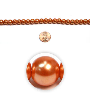 Pearl Glass Beads