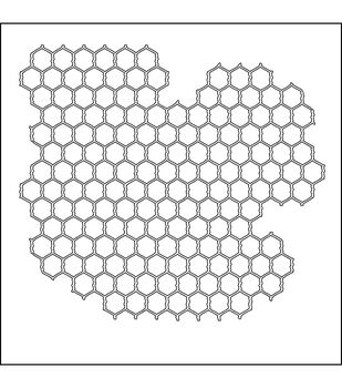 "Crafter's Workshop Templates 6""X6""-Mini Chicken Wire"