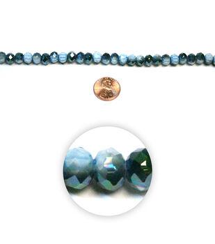 Seaside Crystalline Glass Beads