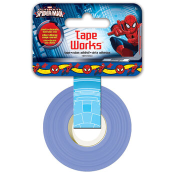 "Tape Works Tape .625""X50ft Spiderman"