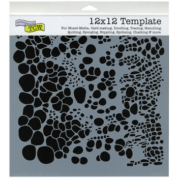 Crafter's Workshop Templates Cell Theory 12'' x 12''