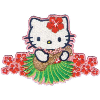 C, Visionary Hello Kitty Patches Ukelele