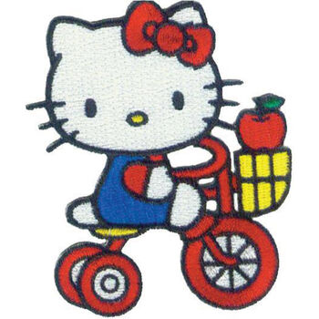 C, Visionary Hello Kitty Patches Tricycle Apple