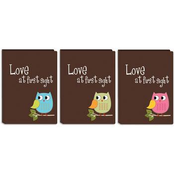 "Baby Owl Brag Book Album 4""X6"" 36 Pockets"