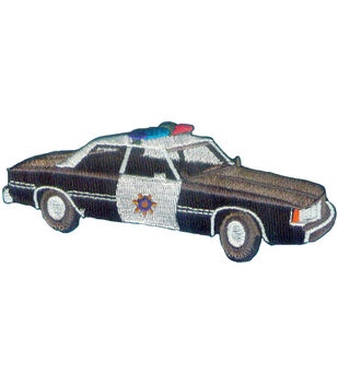 C&D Visionary Patches-Police Car