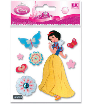 Disney Dimensional Stickers-Snow White With Butterflies