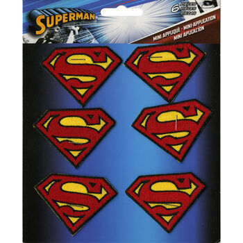 C&D Visionary DC Comics Superman Insignia Patch 2''x1.5''