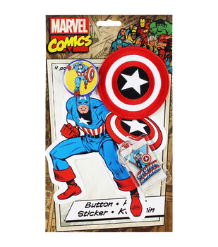 C&D Visionary Captain America Collector's Pack