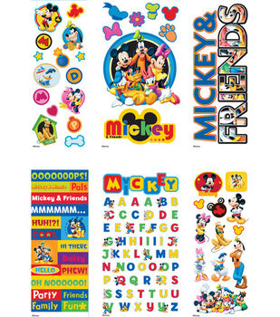 EK Success Disney Sticker Set-Mickey & Friends