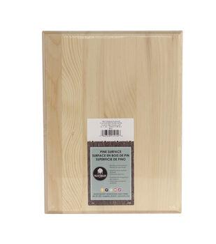 Walnut Hollow Pine Plaque-9''x12''x.69''/Rectangle