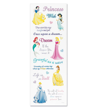 Sticko Disney Princess Stickers-Phrase