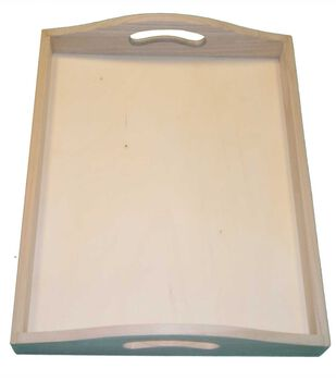 """14"""" Wood Serving Tray"""
