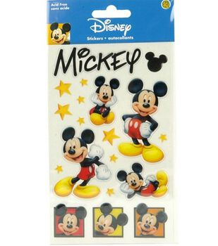 Disney Gems Stickers-Mickey