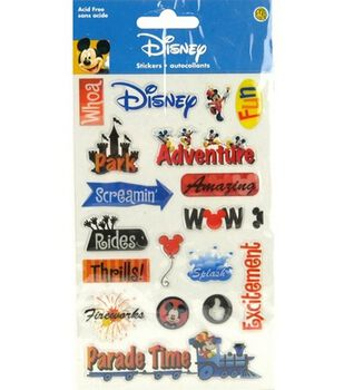 Disney Gems Stickers-Disney Adventure