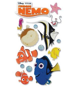 Disney Le Grande Stickers-Finding Nemo-Nemo