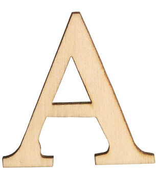 Walnut Hollow 1-1/2'' Wood Letters & Numbers