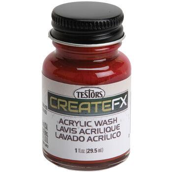 Testors® CreateFX Acrylic Wash, 1oz