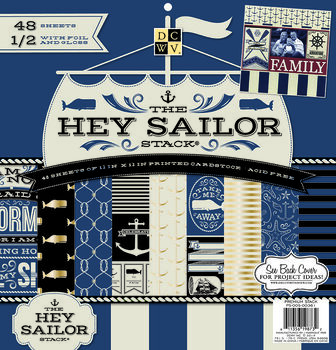 """DCWV 12""""x12"""" Hey Sailor Stack"""
