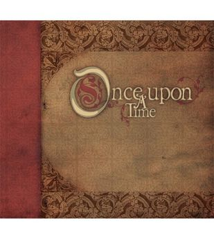 Diecuts With A View 12''x12'' Postbound Album-Once Upon A Time
