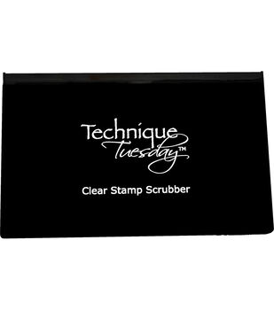 Technique Tuesday Clear Stamp Scrubber