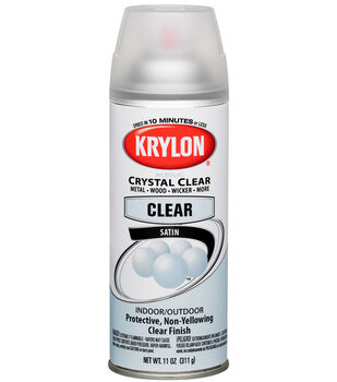 Krylon Spray Crystal Clear Satin 1313