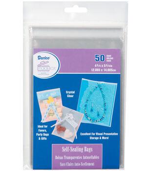 Darice Self Sealing Bags 4.75''x5.75''