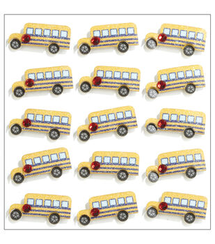 Jolee's Mini Repeats Stickers-School Bus