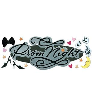 Jolee's Boutique Title Wave Stickers-Prom Night