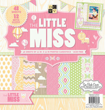 DCWV 12''x12'' Little Miss Stack