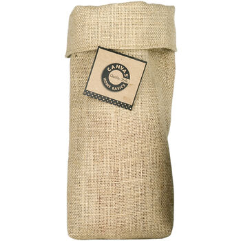 Canvas Corp Saggy Baggy Natural Burlap Quart