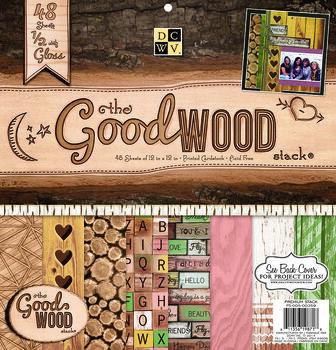 "DCWV 12""x12"" Good Wood Stack"