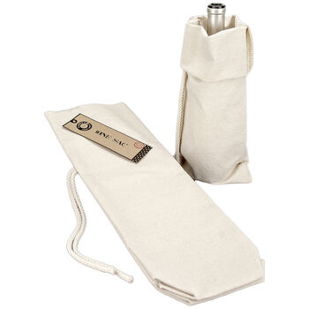 Canvas Corp Canvas Wine Sack Natural