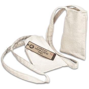 Canvas Corp Canvas Shoulder Bag Natural Small