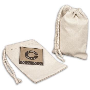 Canvas Corp Canvas Drawstring Bag Natural 5''x7''