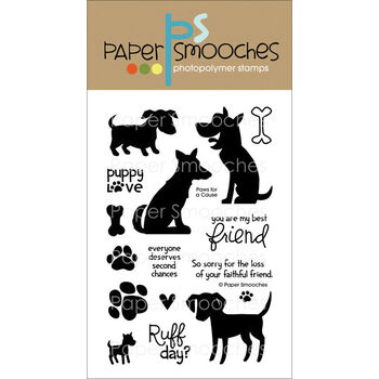 Paper Smooches Clear Stamps Paws For A Cause